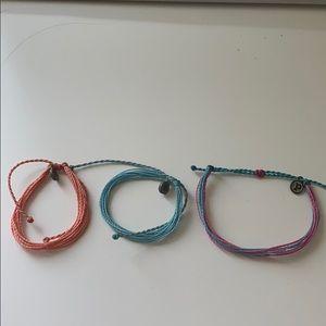 pura vida string bracelets